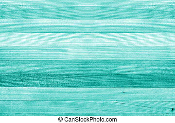 Teal and Turquoise Wood Texture Background - Teal or...