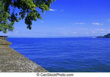 lake constance - summer at lake constance