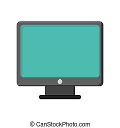 computer monitor screen icon