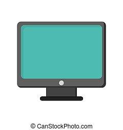 computer monitor screen icon