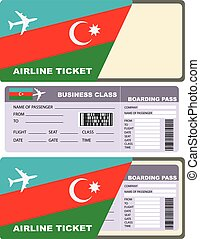 Airline tickets for flight to Azerbaijan