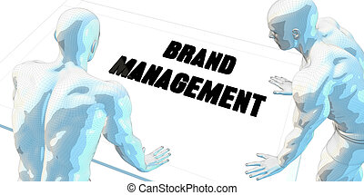 Brand Management Discussion and Business Meeting Concept Art