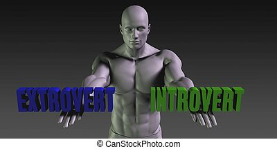 Extrovert or Introvert as a Versus Choice of Different...