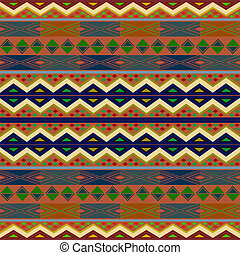 Rug - African rug, creative design elements