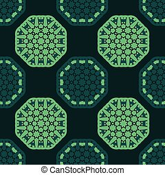 octagon seamless pattern - octagon star seamless pattern...