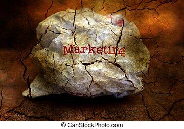 Abandon marketing grunge concept
