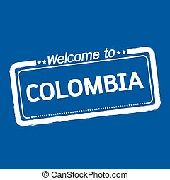 Welcome to COLOMBIA illustration design