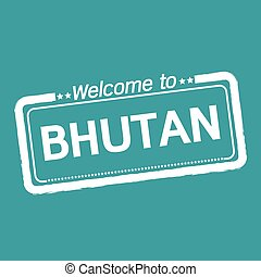 Welcome to BHUTAN illustration design