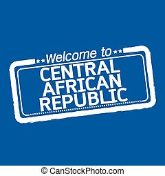 Welcome to CENTRAL AFRICAN REPUBLIC illustration design