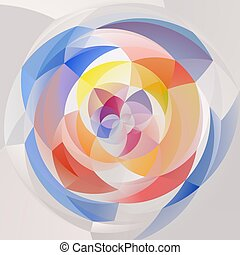 abstract modern swirl background - pastel full color...