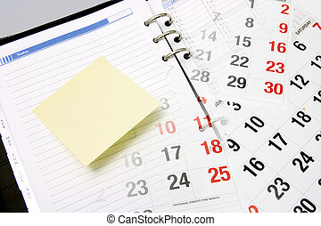 Calendar and Planner - Composite of Calendar and Planner