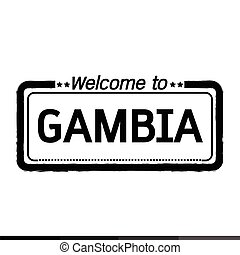 Welcome to GAMBIA illustration design