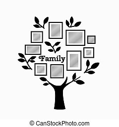 Memories tree with frames - Memories tree with picture...