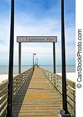 Lighthouse Pier in Biloxi, MS