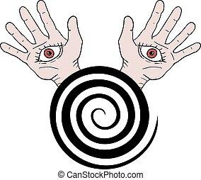 hypnosis symbol - Creative design of hypnosis symbol