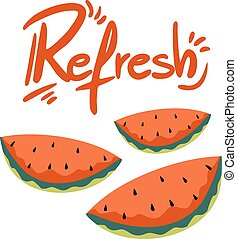 imaginative refresh illustration - Creative design of...