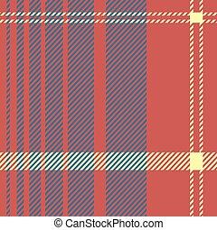 red tartan seamless background - Creative design of red...
