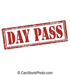 Day Pass-stamp