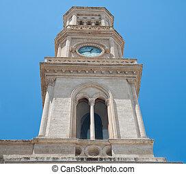 Clocktower. Altamura. Apulia.