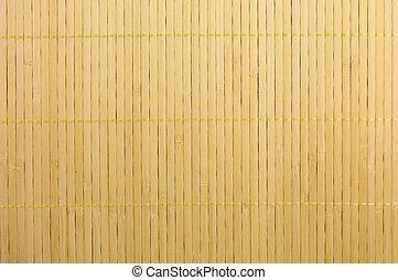 竹子, 地方, 蓆子