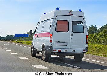 汽車, 醫學, 服務, 緊急事件