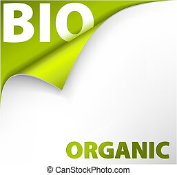 background bookmark for organic