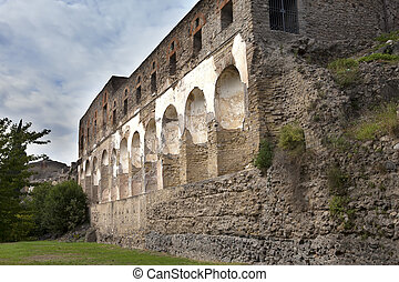 Italy. Ruins of Pompey.