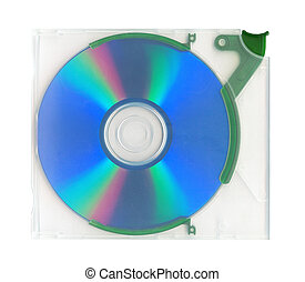 Disk in the case