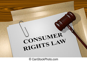 Consumer Rights Law legal concept
