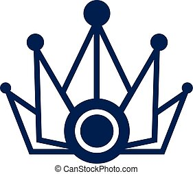 Abstract Crown - Vector Design of 	Abstract Crown