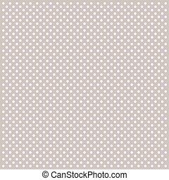 Polka dot pattern with circles.