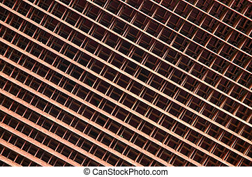 Grate - A background - the rusty metal grate