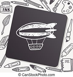 Airship doodle