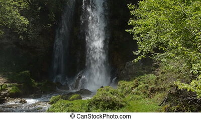 Gostilje Waterfall on Zlatibor Moun - Waterfall on Zlatibor...