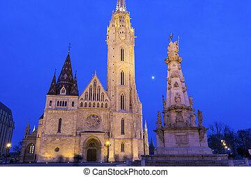 Matthias Church in Budapest, Hungary - Matthias Church and...