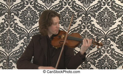 Classical Violin Player - Classical violinist performs...