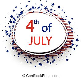 Independence Day background - Oval 4th of July Independence...