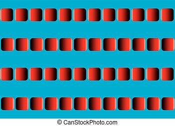 Illusory Motion Optical Illusion - Illusory motion, optical...