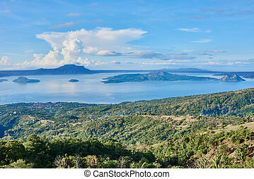 Taal Volcano Philippines - Taal Volcano in Luzon Philippines