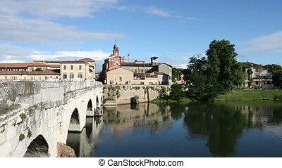 Rimini Tiberius bridge