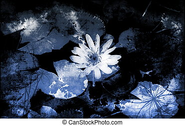 Innocence in Nature Painted Flowers Art Abstract