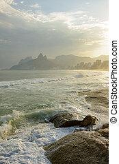 Ipanema and Arpoador beaches - Ipanema, Leblon and Arpoador...
