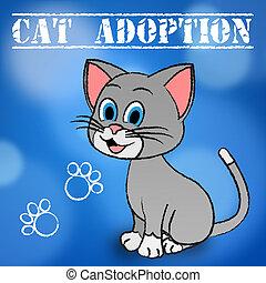 Cat Adoption Feline Adopted - Cat Adoption Showing Feline...