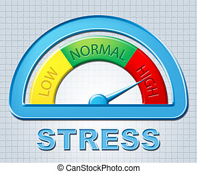 High Stress Tension Scale - High Stress Meaning Tension...