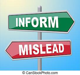 Inform Mislead Deceiving - Inform Mislead Representing...