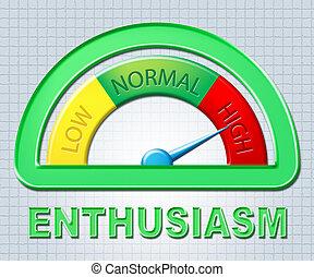 High Enthusiasm Enthusiast - High Enthusiasm Showing Do It...