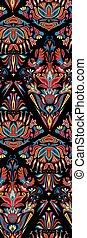 Ethnic boho seamless pattern - Ethno boho ornament Ethnic...