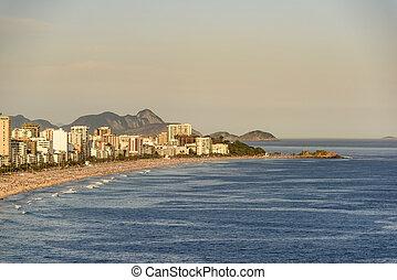 Ipanema and Arpoador beaches - Ipanema beaches and Arpoador...