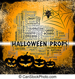 Halloween Props Shows Trick Or Treat And Accessories -...