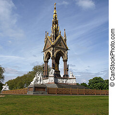 Albert Memorial, London - Albert Memorial in Kensington...